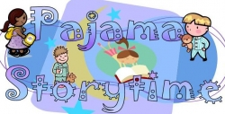 Image result for PAJAMA STORY TIME