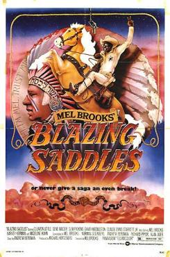 Blazing Saddles graphic