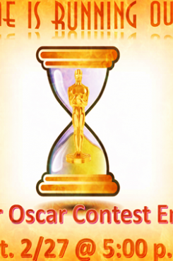 Oscar Contest 2016 Ending Soon graphic