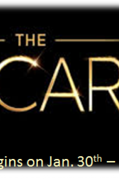 Oscar Contest Begins graphic