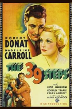 The 39 Steps Graphic