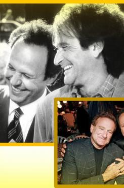 Friends Billy Crystal & Robin Williams
