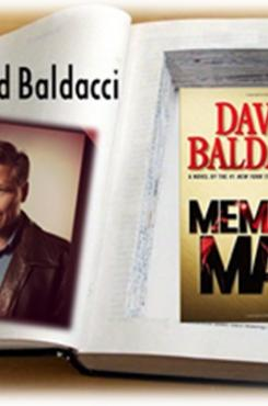 David Baldacci Memory Man graphic