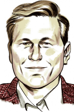 Sketch of David Baldacci
