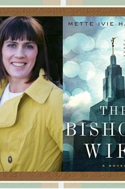 Mette Ivie Harrison with The Bishop's Wife cover