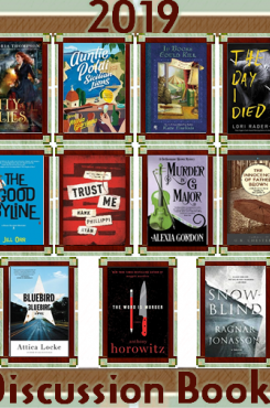 Murder Among Friends 2019 Discussion Books graphic