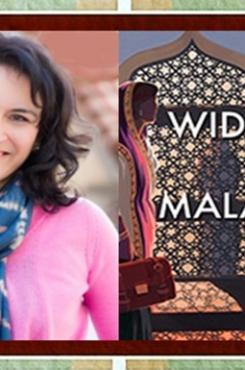 Sujata Massey with Widows of Malabar Cover