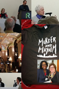 Murder and Mayhem Chicago 2017 collage