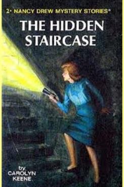 "Cover of Nancy Drew book ""The Hidden Staricase"""