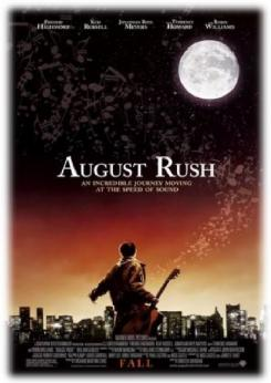 August Rush poster graphic