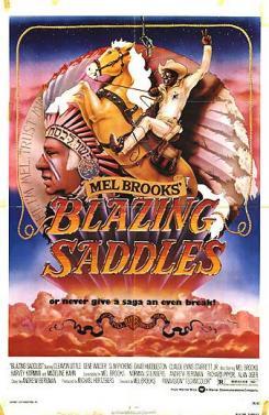 Blazing Saddles graphic