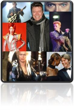 Bowie Collage graphic