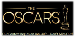 Oscar Contest Begins graphic