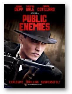 Public Enemies graphic