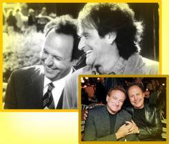 Friends Billy Crystal & Robin Williams