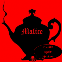 Malice Domestic Agatha awards graphic