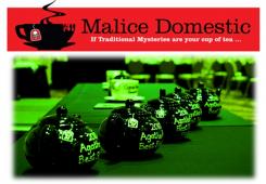 Malice Domestic's Agatha Awards graphic