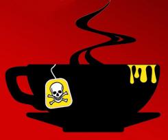 Malice Domestic Teacup logo