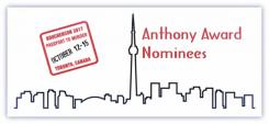 Bouchercon Toronto Anthony Awards graphic