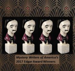 Edgar Awards Statues graphic