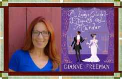Dianne Freeman with Book Cover