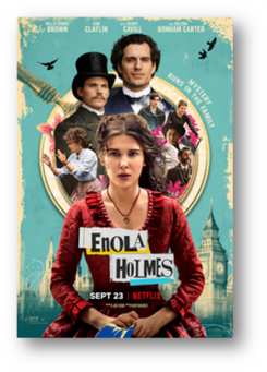 Enola Holmes Feature Poster